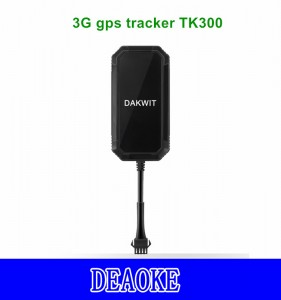 DEAOKE 3G Car/Vehicle/Motorcycle/Truck gps tracker TK300 Mini gps tracker DAKWIT