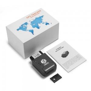 Easy install gps tracking system with Real-time tracking TK206 OBD