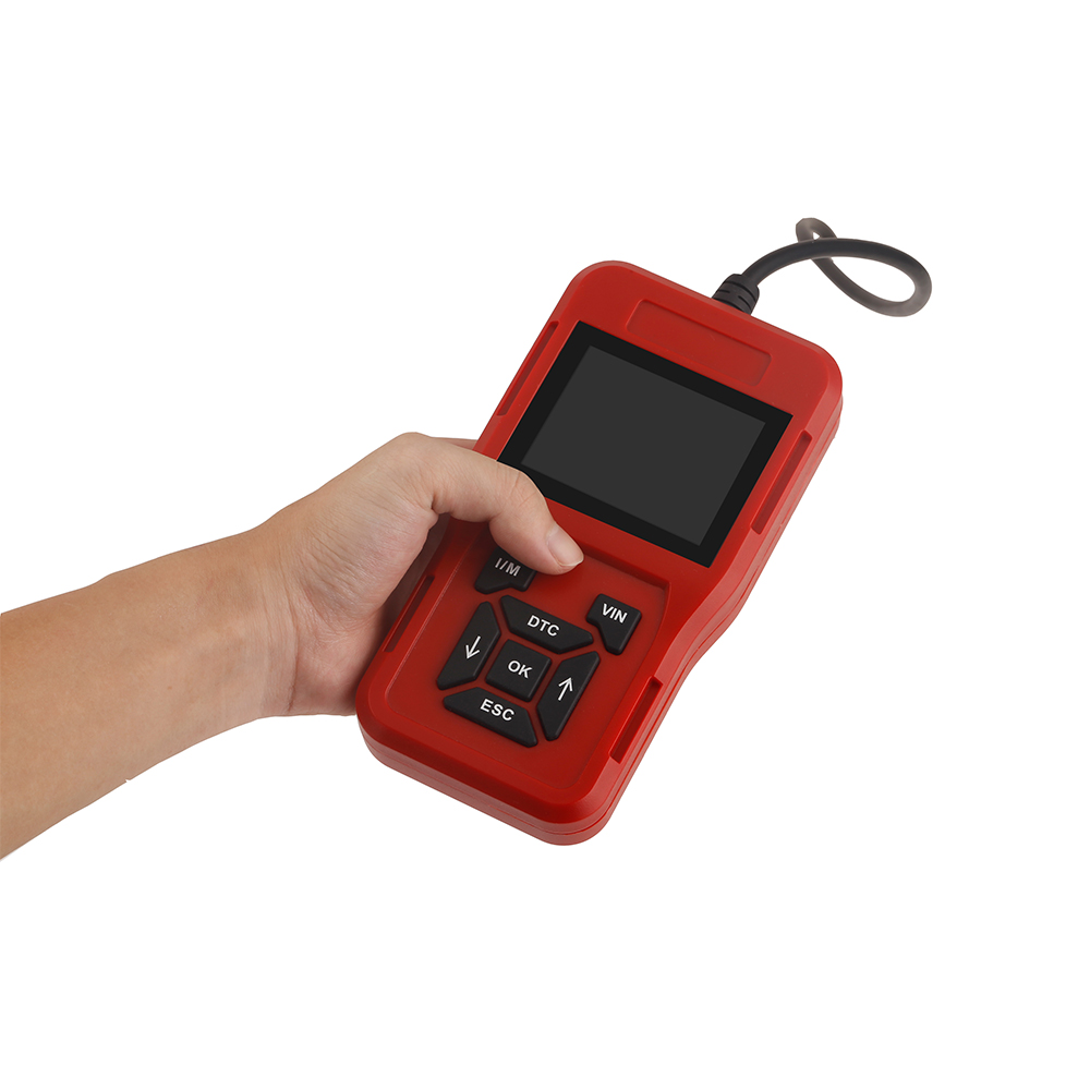 Car Diagnosis Universal OBD Engine Code Reader ODB2 Scanner Auto Diagnostic Tools TK209 Featured Image