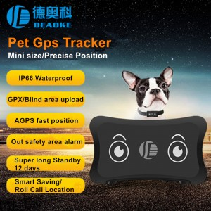 Uusin Pet GPS Tracker TK200 Mini GPS Tracker AGPS Fast Sijoitus