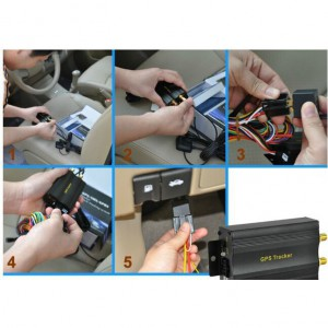 Car/Vehicle GPS tracker with ACC detection/cut-off engine function TK103 TK103A