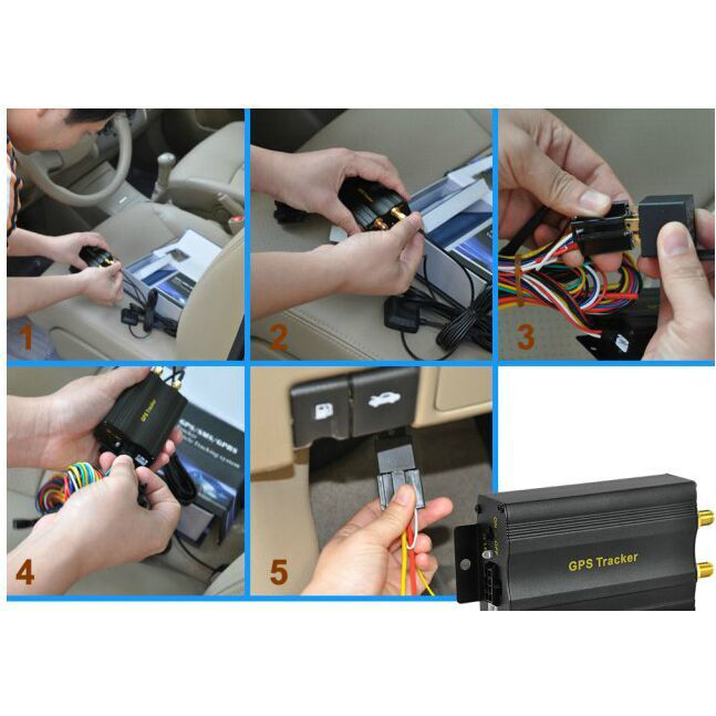Car/Vehicle GPS tracker with ACC detection/cut-off engine function