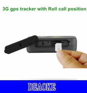 3G gps tracker for Person/Pet/Goods TK203 with Roll call position function