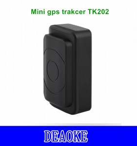 DEAOKE Mini gps tracker 4400/6400mA TK202 Super long Stanby gps tracker with Strong Magnetic with APP/Platform